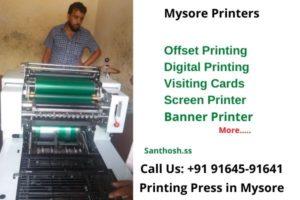 Mysore printers